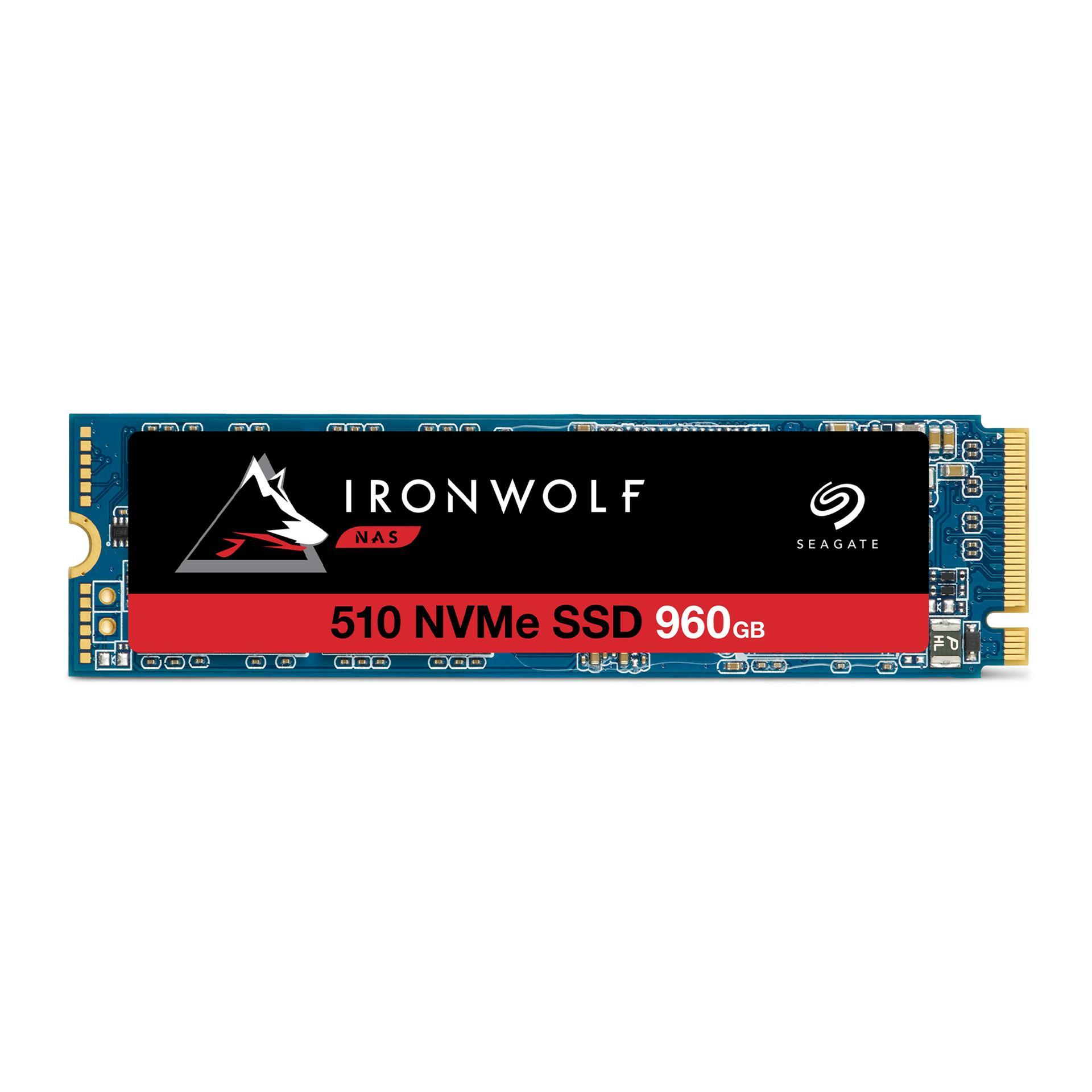 Seagate Ironwolf 510 NAS SSD 960GB, NVMe ZP960NM30011