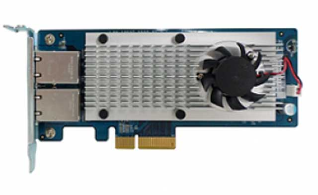 QNAP LAN-10G2T-X550 Dual-port 10 Gigabit RJ45 für Desktopmodelle