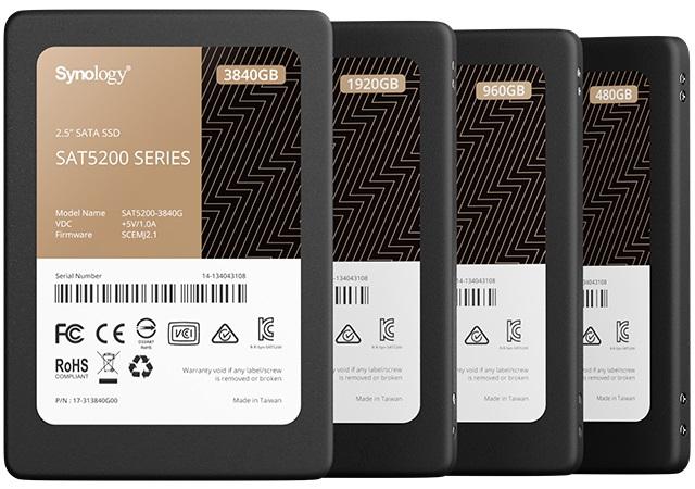 Synology SAT5200 NAS SSD 480GB, SATA 6Gb/s SAT5200-480G