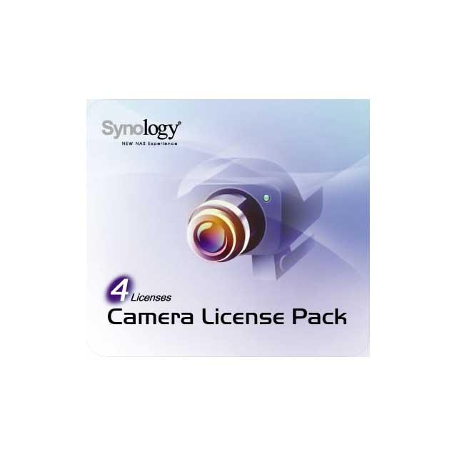 Synology Kamera Lizenz Paket für 4 Kameras nur in Verb. mit einem u...