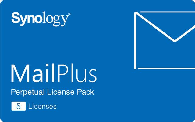 Synology MailPlus Lizenz 5er dauerhaft gültig