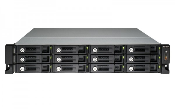 Qnap TS-1253U 12-Bay 72TB Bundle mit 12x 6TB Red Pro WD6002FFWX