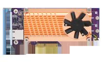 QNAP QM2-2P10G1TA - Speicher-Controller - M.2 - PCIe Low-Profile - ...