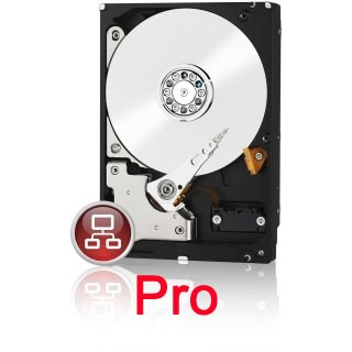 2000GB WD2002FFSX RED Pro 7200U/min 24/7 für 8-16 Bay NAS Systeme