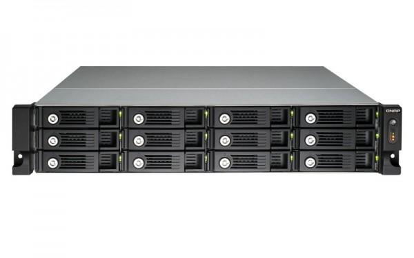 Qnap TS-1253U 12-Bay 96TB Bundle mit 12x 8TB IronWolf ST8000VN0022