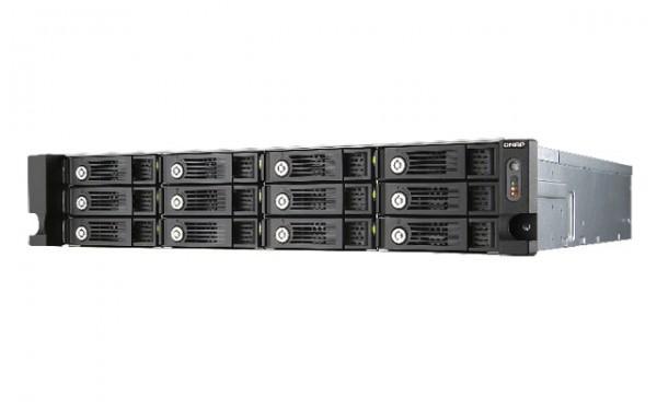 QNAP TS-1253U 2.0GHz QuadCore 4GB Ram 12-Bay Rack NAS Bundle mit 6x 4000GB HGST HUS724040ALE640