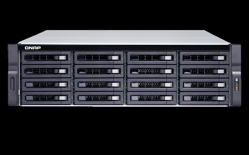Qnap TDS-16489U-SF3-R2, 256GB Arbeitsspeicher, 4x 10GBase-T, 2x Gb LAN