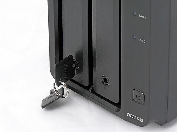 Synology Festplatteneinschubschlüssel schwarz
