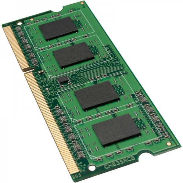 Arbeitsspeicher 2GB, DDR3-RAM, SO-DIMM (1600MHz, 204pin, CL11, 1Rx8)Synology, Qnap, Notebook, Laptop